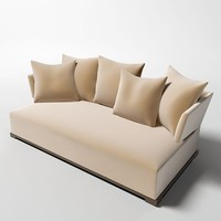 3d model maxalto sofa amoenus