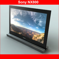 3d tv sony nx800