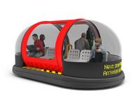 3d model pod transporter