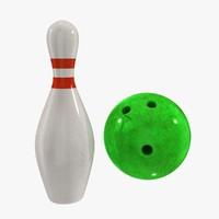 bowling set obj free