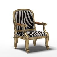 ralph lauren duke host classic chair zebra
