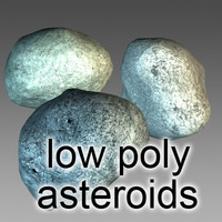 Low Poly Asteroids Deluxe