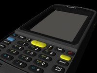 Symbol Handheld Barcoder animated