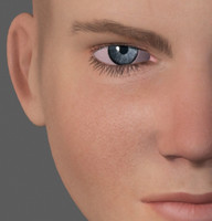 3dsmax male face heads