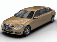 mercedes benz e-class 3d model