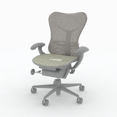 herman miller mirra chair 3d model - Herman Miller Mirra (Fabric Back) Chair... by Bluespring Creative