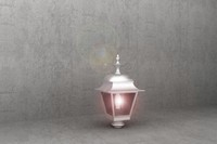 antique street lamp luminaire 3d model