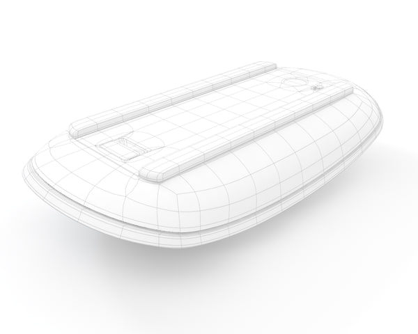 apple magic mouse 3d model - Apple Magic Mouse... by ken_g9