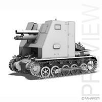 SD.KFZ 101 - Sturmpanzer 1 - Bison Ausf.B