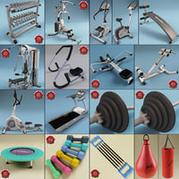 Gym Equipment Collection V3