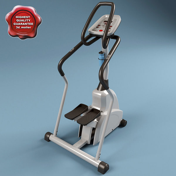 3d model gym equipment v3 - Gym Equipment Collection V3... by 3d_molier
