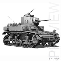 US Light Tank - M3 - Stuart