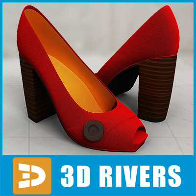 Red high heels 02 by 3DRivers