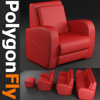 sofa set 09 dxf