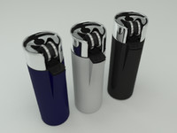 clipper lighter 3d model