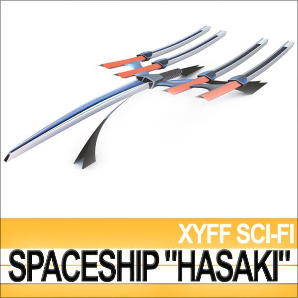 XyffSciFiSpaceshipHasakiNwr.jpg