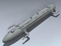 ecm pod 3d model