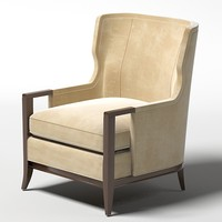 baker wing armchair high backed