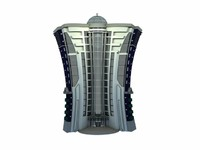 cartoon building 3d model