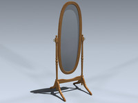 3ds max cheval mirror