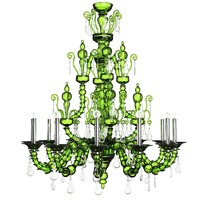 classic crystal murano glass chandelier barovier toso