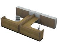 types desk 3d model