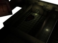 sci-fi level 3d model