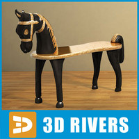 Horse bench by 3DRivers