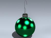 3dsmax ornament christmas tree