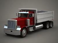 large dump-truck 3d 3ds
