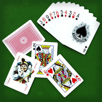 Poker play cards