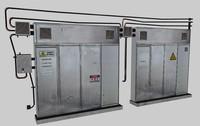 caixa grande 3d model