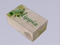 free caixa sabonete 3d model