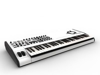 synthesizer 3d c4d