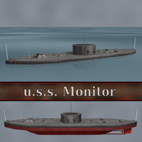 Ship U.S.S. Monitor (Ironclad warship)