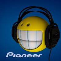 Pioneer SE M390 Professional Headphones