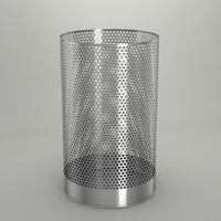 Trash cans set