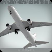 767-300 Generic White