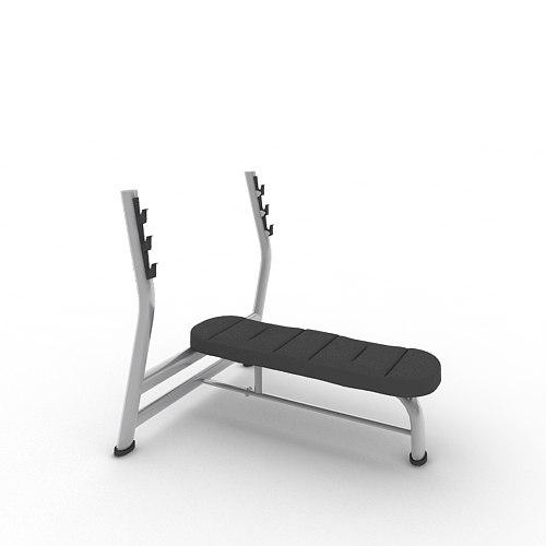 Olympic Flat Bench A996_FBX