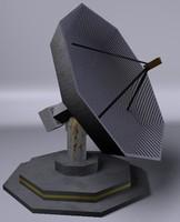 antena 3d model