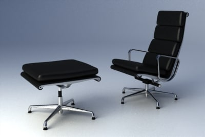 Eames Softpad Group Lounge Chair