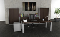 3d model office interior 05b
