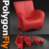 sofa set 10 3d max