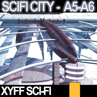 Xyff SciFi City A5 and A6