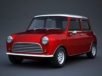 3ds max classic small car