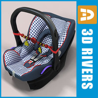 Infant car seat 03 by 3DRivers
