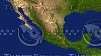 mexico maps 3d max