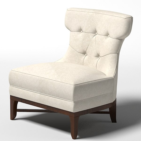 modern nontemporary art deco thomasville1084 15 Nicole chair armchair tufted small.jpg