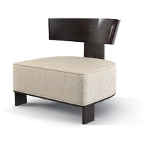 Molteni Clipper Modern Low Chair
