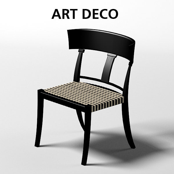 oak design art deco chair dining stool .jpg